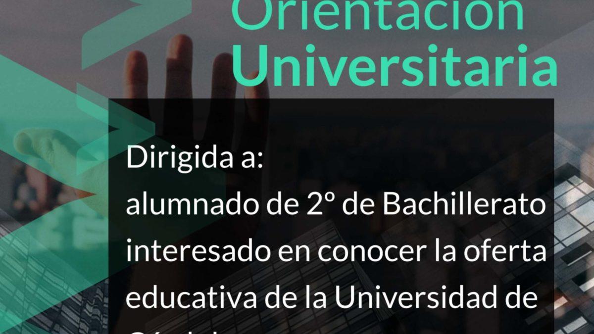 Jornadas Orientación Universitaria UCO 2021