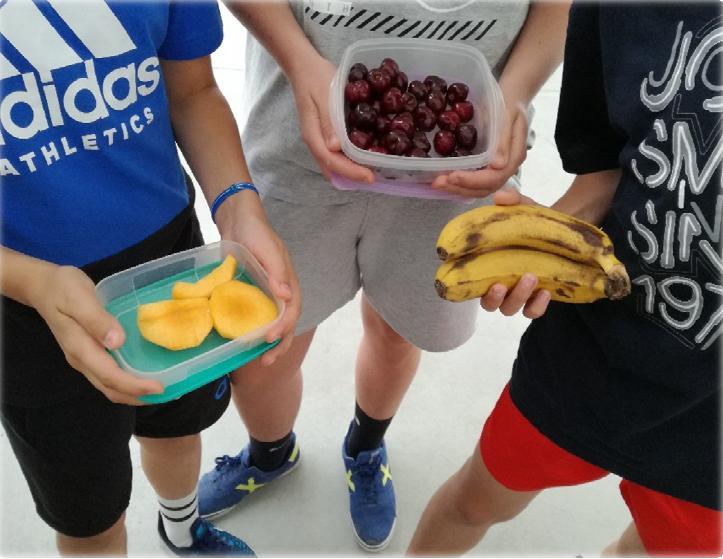 Desayunos saludables y ecológicos en 1º ESO