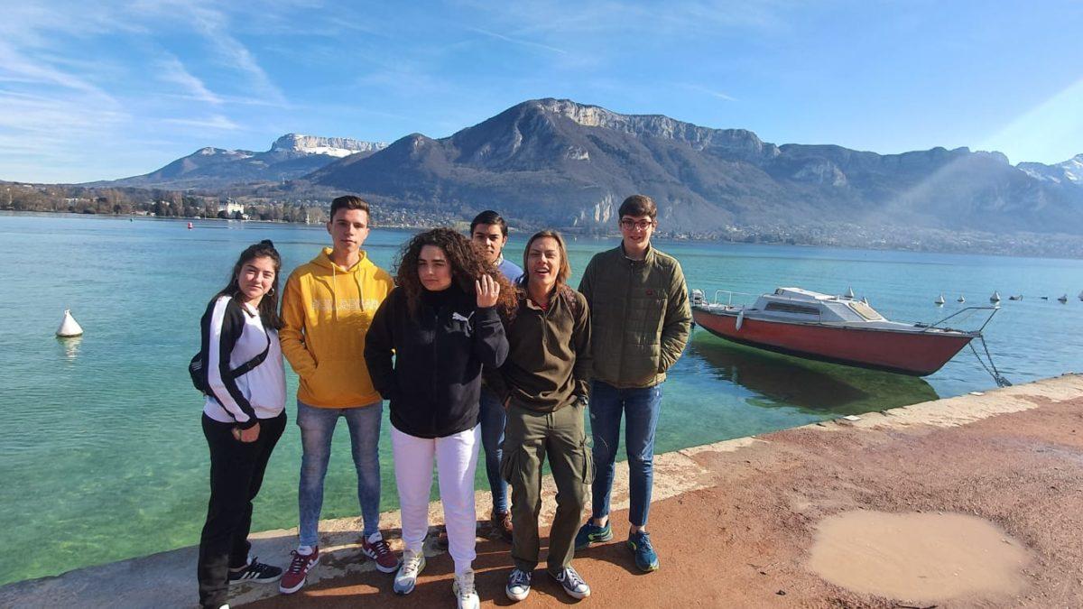 Alumnos de Erasmus en el European Advanced Training of Basic Agro-gardener