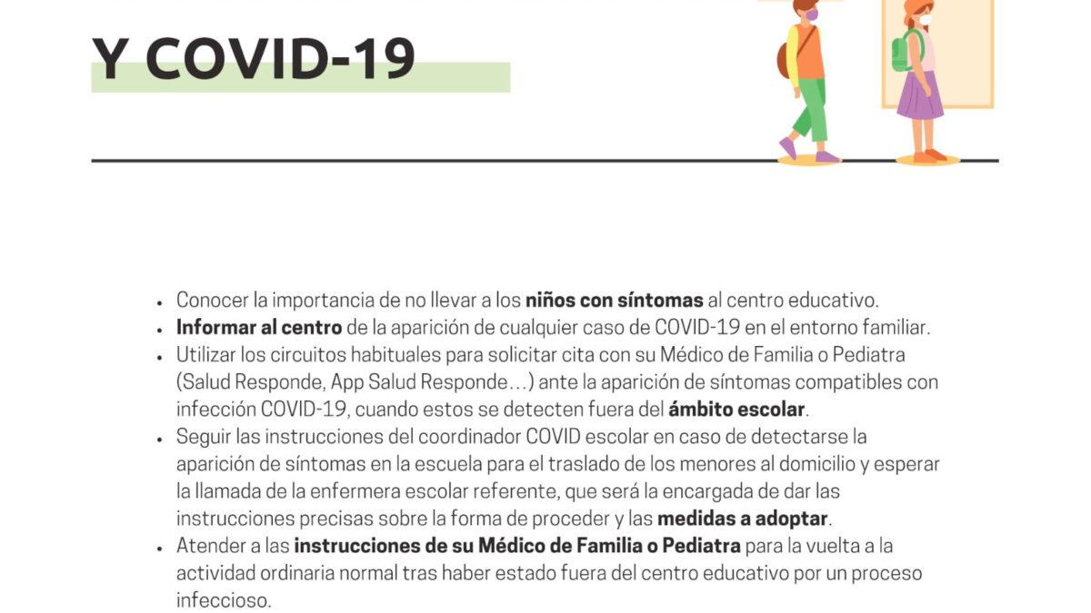 CENTROS EDUCATIVOS Y COVID-19