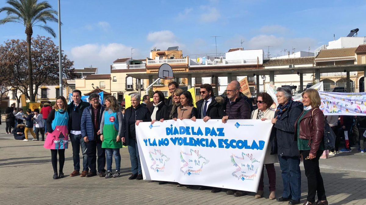 Marcha por la Paz y la NO violencia escolar